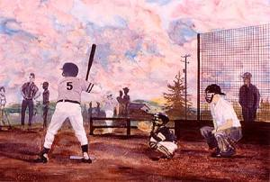 Little League painting