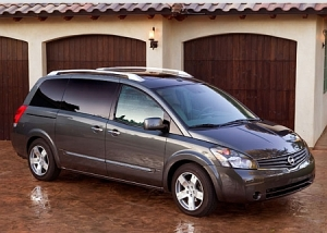 Nissan Quest.  An example of a perfectly adequate IMPORT vehicle that millions of people buy every year.