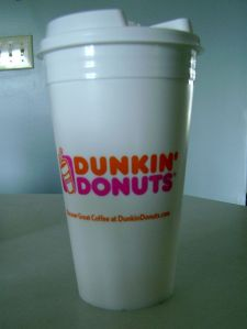 Dunkin Donuts Travel Cup