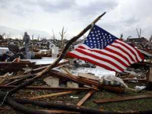 Joplin Torando American Flag