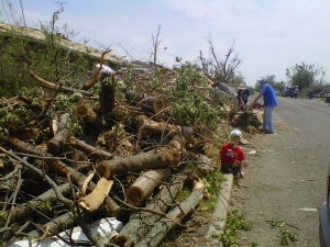 Cutting and clearing in Joplin