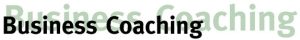 Business Coaching Header