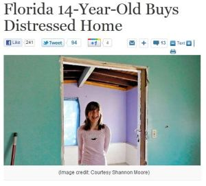 Willow Tufano - 14 Year Old Real Estate Investor