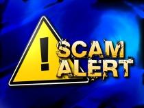 Image showing scam alert